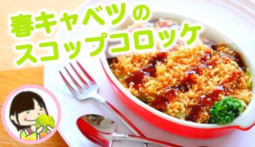 春キャベツのスコップコロッケ 作り方レシピ - 料理動画