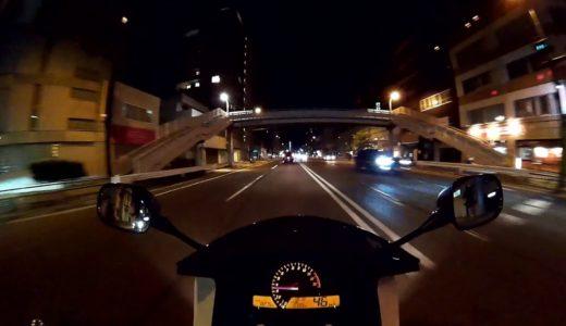 #720【VTR】 眠れない日 夜の広島市内を走ってみた