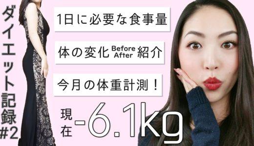 【ダイエット#2】ニキビや体の変化+1日に必要な食事の量って?