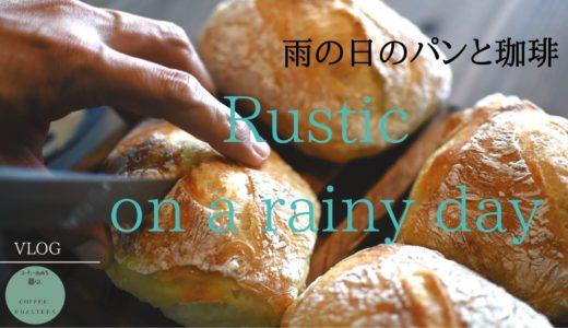【暮らしvlog】雨の日のリュスティック|多肉植物|手仕事の夜|Eng sub