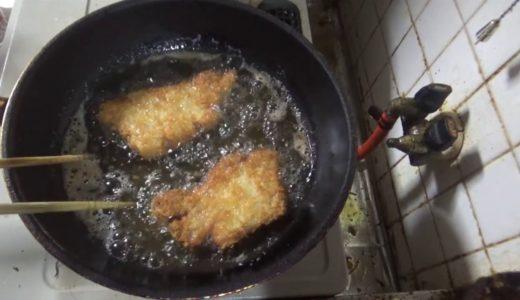 良い豚肉でとんかつ作ったら?☆