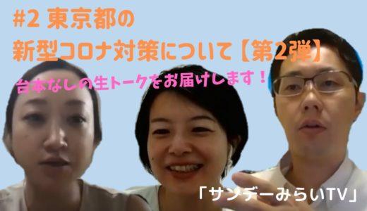サンデーみらいTV#2『東京都の新型コロナ対策について 第2弾』