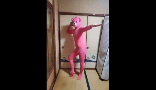 ピンクマがゲッダン踊ってみた。
